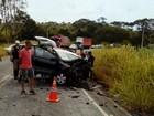 Duas pessoas morrem em acidente na MG-133 em Tabuleiro, MG