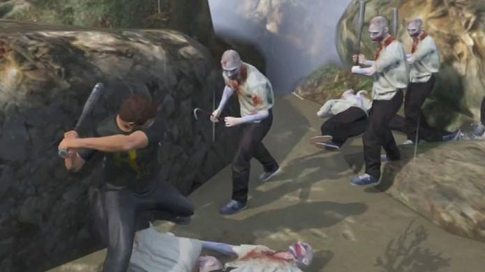 Fã cria apocalipse zumbi em GTA 5 com suporte para multiplayer em GTA Online (Foto: Reprodução)