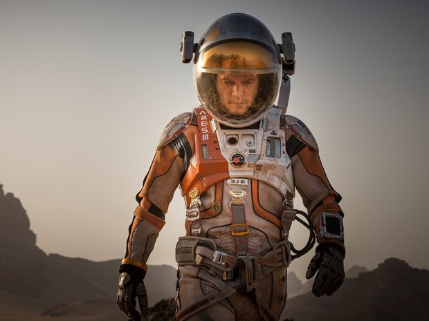 Matt Damon em 'Perdido em Marte' (Foto: Divulgação)