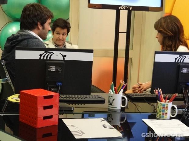 Jonas convida Davi para ir a São Francisco (Foto: Geração Brasil/TV Globo)