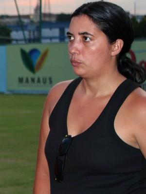 Simone Carneiro (Foto: Adeilson Albuquerque/GLOBOESPORTE.COM)