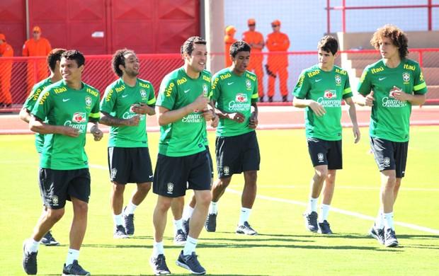 Treino Seleção Brasileira (Foto: Fabrício Marques)