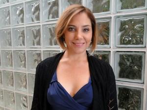 Heloísa Périssé conta que é uma mãe diferente de Monalisa (Foto: Encontro com Fátima Bernardes/ TV Globo)