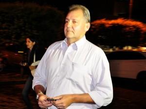 O superintendente regional do BicBanco, Luiz Carlos Cuzziol, réu em processo da operação Ararath. (Foto: Renê Dióz / G1)