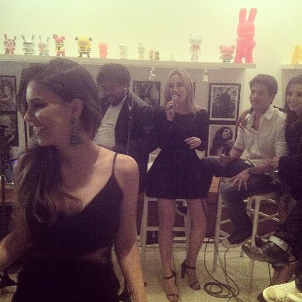 Mariana Rios em festa de Claudia Leitte no Rio (Foto: Instagram/ Reprodução)