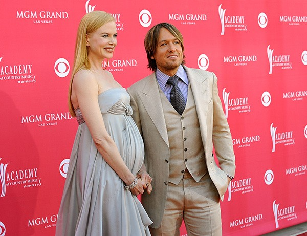 Nicole Kidman e Keith Urban em 2008 (Foto: Getty Images)