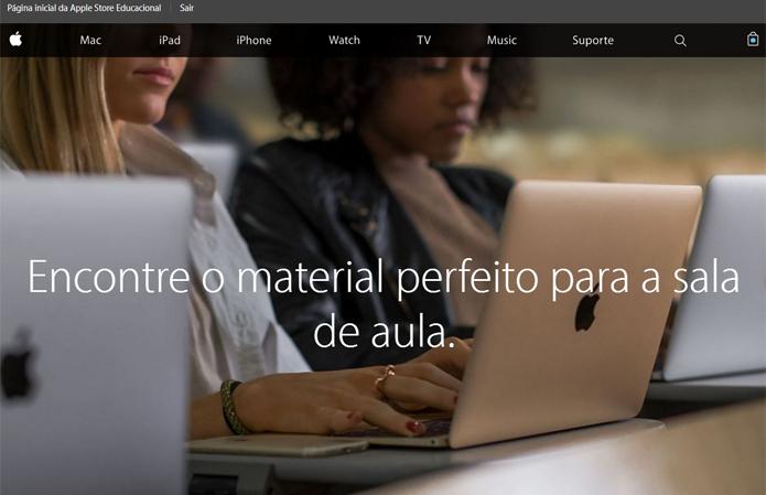 b1d413212cb7e Página permite que estudantes, professores e administradores do ensino  superior tenham acesso a produtos com