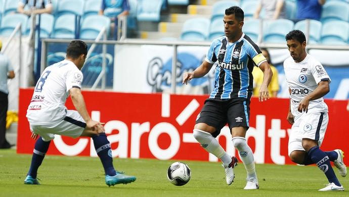 Maicon Grêmio x Glória  (Foto: Lucas Uebel/Grêmio)