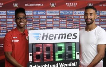 Pagode, resenha e bola: Wendell renova ânimo no Bayer Leverkusen