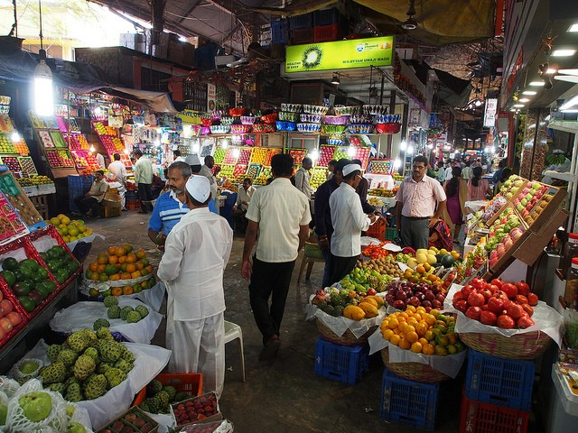 Crawford Market, Mumbai (Foto: Creative Commons/Flickr)