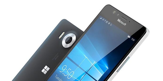 Lumia 950 possui processador hexa-core enquanto versão maior chega com octa-core (Foto: Divulgação/Microsoft) (Foto: Lumia 950 possui processador hexa-core enquanto versão maior chega com octa-core (Foto: Divulgação/Microsoft))