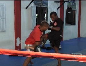 Lutadores maranhenses treinam para segunda edição do Spartan MMA, em São Luís (Foto: Reprodução/TV Mirante)