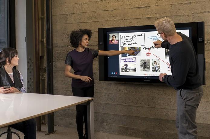 Surface Hub (Foto: Divulgação/Microsoft)