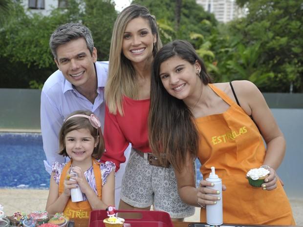 Giulia já participou do Estrelas ao lado da família (Foto: Renato Rocha Miranda/TV Globo)
