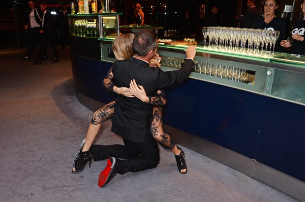 Jonathan Saunders e Cara Delevingne (Foto: Getty Images)