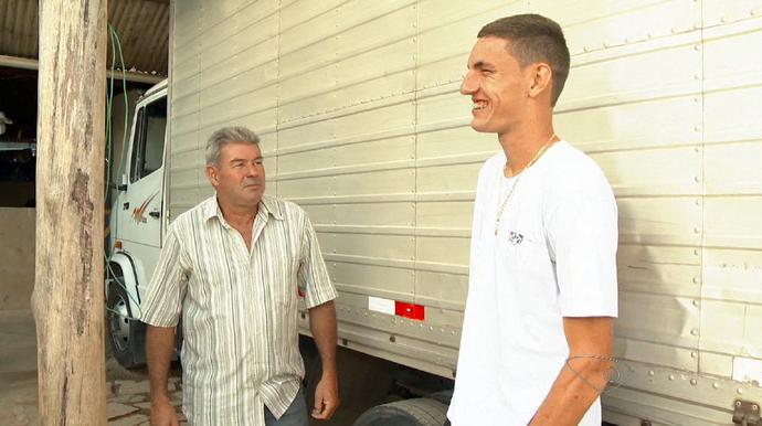 Willyan, zagueiro da Desportiva Ferroviária (Foto: Reprodução/TV Gazeta)