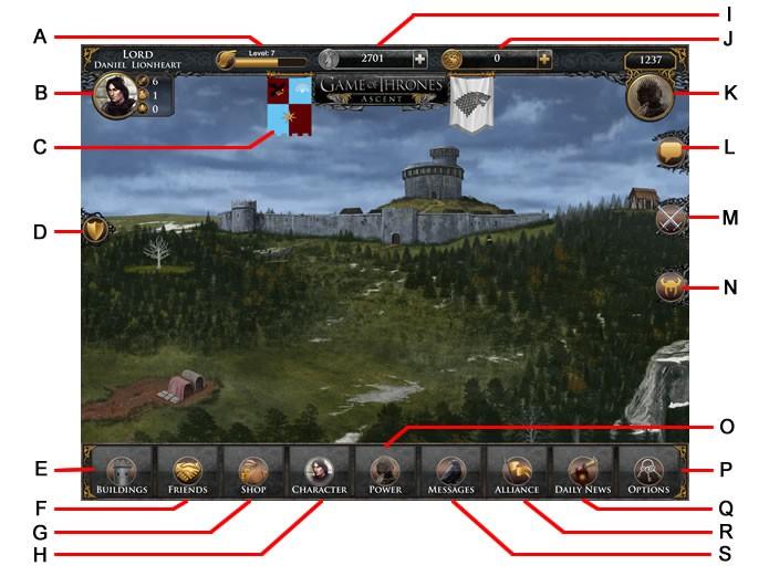Interface do game (Foto: Reprodução/Daniel Ribeiro)