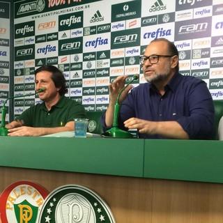 Médicos Palmeiras coletiva (Foto: Rodrigo Faber)