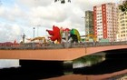 Galo da Madrugada toma conta de ponte (Aldo Carneiro / Pernambuco Press)
