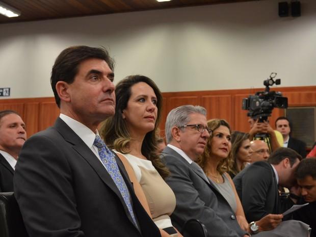 Duarte Nogueira recebeu seu diploma; Ele foi eleito prefeito de Ribeirão Preto para 2017 (Foto: LG Rodrigues / G1)
