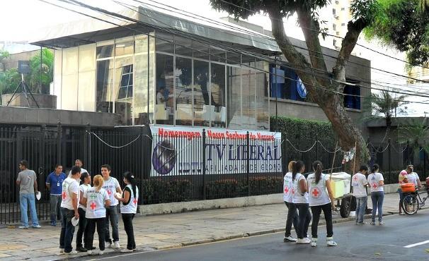 Estúdio Panorâmico da TV Liberal  (Foto: Jorge Luís)