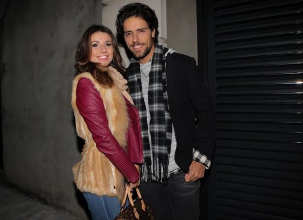 Paula Fernandes e o namorado, Thiago Arancam (Foto: Manuela Scarpa/Brazil News)