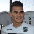 Saulo - goleiro do ABC (Foto: Jocaff Souza/GloboEsporte.com)