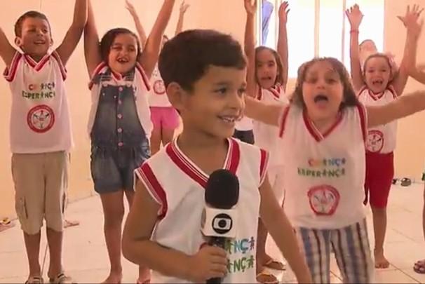 Paraíba Comunidade especial Criança Esperança (Foto: Reprodução/TV Cabo Branco)