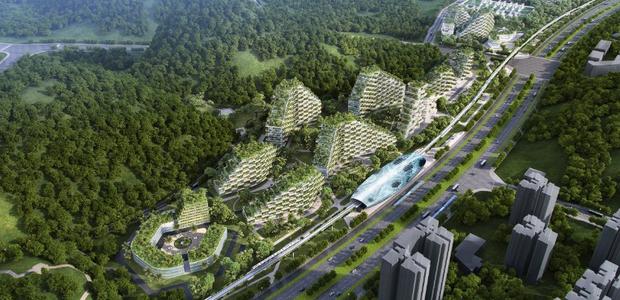Primeira cidade 100% sustentável será construída na China (Foto: Divulgação)