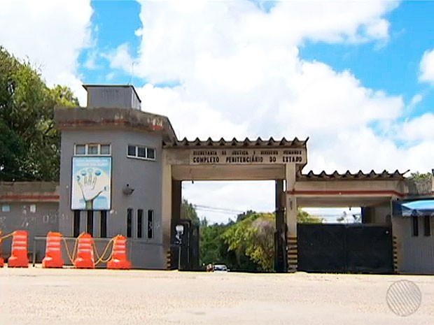 complexo penitenciário mata escura (Foto: Reprodução/TV Bahia)