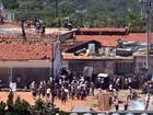 'Muralha' de tubos de aço e concreto vai separar pavilhões de Alcaçuz