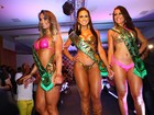 Candidatas mostram muitos mais que o derrière na final do Miss Bumbum 2013