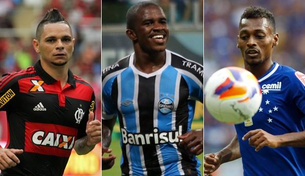 Flamengo, Grêmio e Cruzeiro entram em campo na noite desta quarta e você vê pela Globo e pelas suas afiliadas (Foto: globoesporte.com)