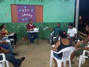Lideranças comunitárias querem garantias do governo para a segurança pública na região do Ulisses Guimarães e entorno (Foto: Toni Francis/G1)