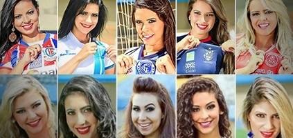 Musa do Goianão 2015 já  começou; veja as candidatas (Editoria de Arte)