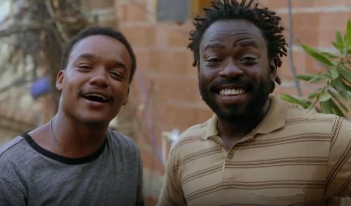 Laranjinha e Acerola em 'Cidade dos Homens' (Foto: TV Globo)