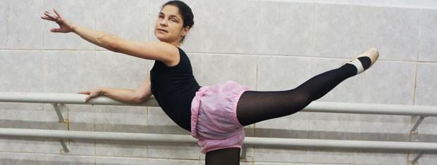 Sabrina Casado, bailarina deficiente visual da Paraíba (Foto: Inaê Teles/G1)