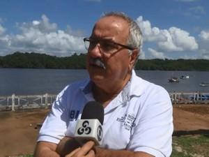 Médico veterinário Arnaldo Ballarini, de Oiapoque (Foto: Reprodução/Rede Amazônica)