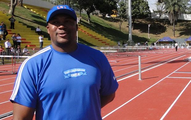 Edson Luciano, ex-atleta (Foto: Valeska Silva / Globoesporte.com)