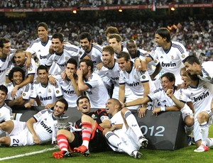 Real Madrid, Supercopa (Foto: Agência EFE)