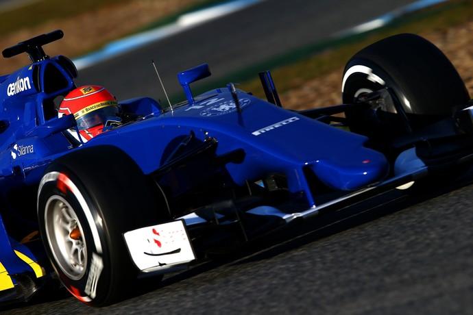 Felipe Nasr Sauber dia 2 testes Jerez de la Frontera (Foto: Getty Images)