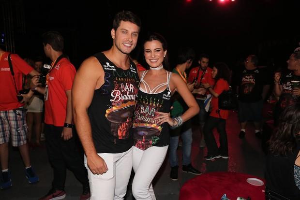 Elieser e Kamilla Salgado  (Foto: Cláudio AugustoBrazil News)