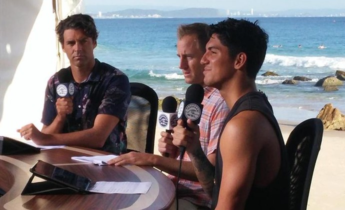 Medina entrevista WSL (Foto: Felipe Siqueira)