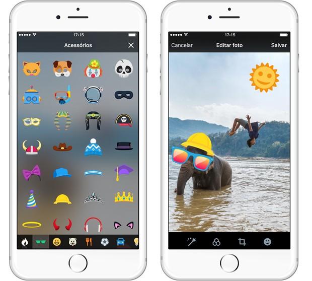 Twitter lança recurso para acrescentar adesivos virtuais a imagens