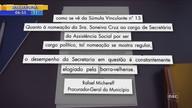 Prefeito de Barra Velha propõe emenda que permite manter a mulher como secretária