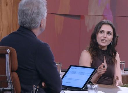 Monica Iozzi comenta processo movido por Gilmar Mendes