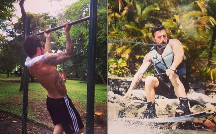 Ex-BBB Cristiano Naya é muito ligado a esportes (Foto: Arquivo Pessoal)