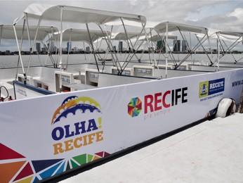 Passeio de catamarã gratuito é boa opção para conhecer pontos turísticos da cidade (Foto: Divulgação/Luciano Ferreira)