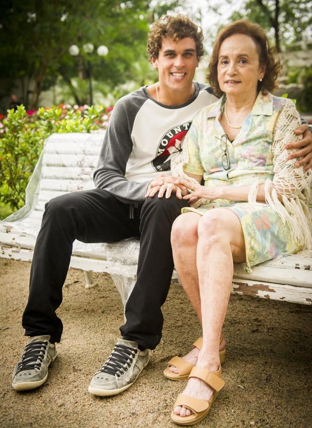 Felipe Roque e Joana Fomm em cena de 'Malhação' (Foto: Divulgação/TV Globo)