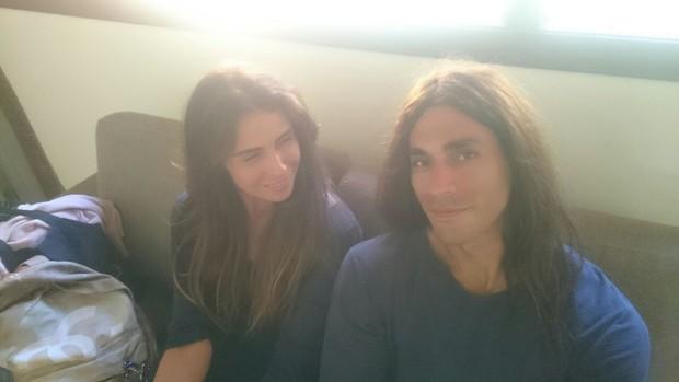 Giovanna Antonelli e o dublê, Pedro Henrique (Foto: Reprodução / Instagram)